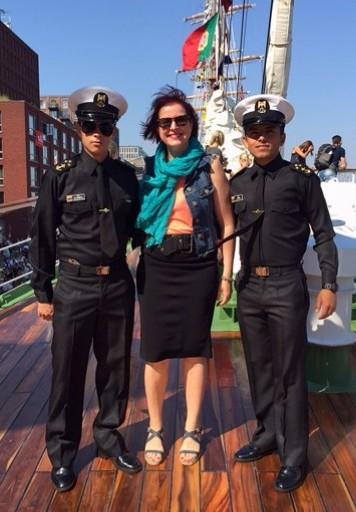Avec les marins du Gloria