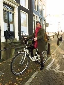 Hélène vélo novembre 2015