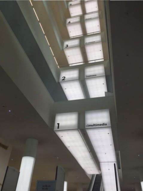 OBA, intérieur