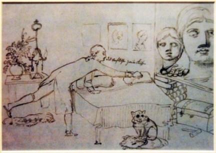 Goethe-dans-son-appartement---Rome