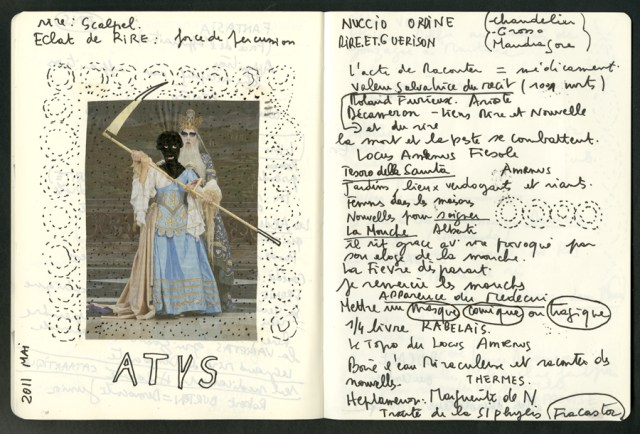 cahier ROUGE ATHYS221
