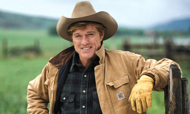 Robert Redford in The Horse Whisperer
