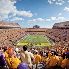 Tiger Stadium at LSU