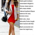 Red, White & Black: Nina Dobrev Mother's Day Outfit