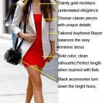 Red, White & Black: Nina Dobrev Mother's Day Outfit