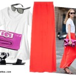 Go Bold with Brights–Three Ways to Wear Maxi Skirt
