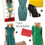 Play With Colors: Green Dress Pairing Inspired by Nikki Reed