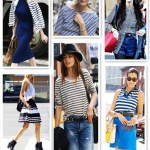 Fashion Week Street Style: Stripes