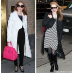 Winter Chic: Black And White With A Splash of Color