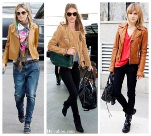 Three Unexpected Ways To Wear Brown Leather Jacket