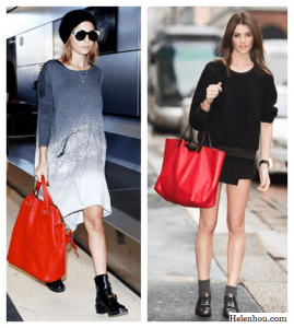 How To Wear Red (Part III: Bags)