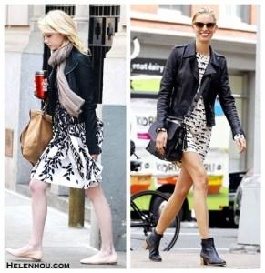 Leather Jacket Styles: Edgy Meets Feminine