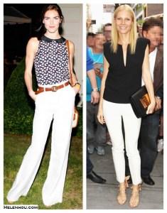 Back to Basics: Timeless White Pants (Part IV)