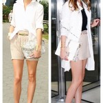Summer Office Chic: Bermuda Shorts & Cut Out Heels