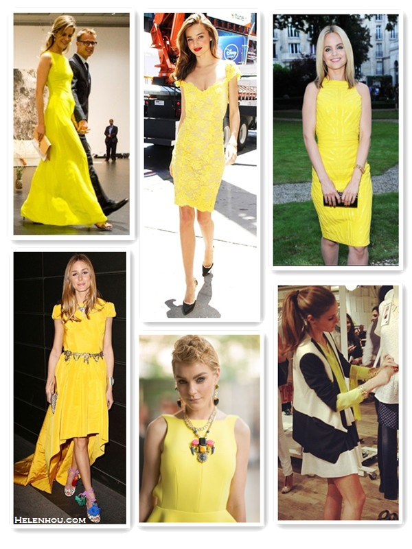 Yellow Crush From Lace To Silk To Jacquard Helen S Life