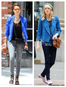 Colored Blazer For Fall