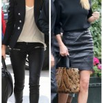 Off Duty Chic: Tough Meets Sexy