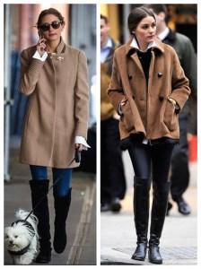 Fall Essentials: Camel Coat & Knee High Boots