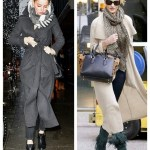 Oversize Chic: Long Coats and Ankle Boots