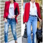 Red Blazer, Two Ways