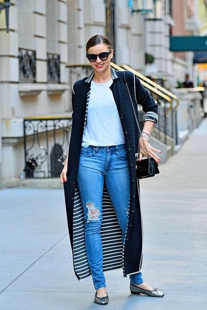 Miranda Kerr, street style 2014
