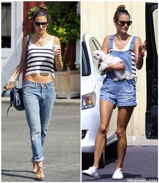 Models off Duty 2014; how to wear crop tops; summer outfit ideas;