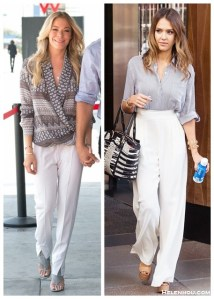 Office Chic: White Pants