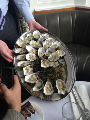 Ireland's Wild Atlantic Way Oysters with Cucumber