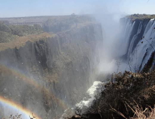 Victoria Falls in July Rainbow