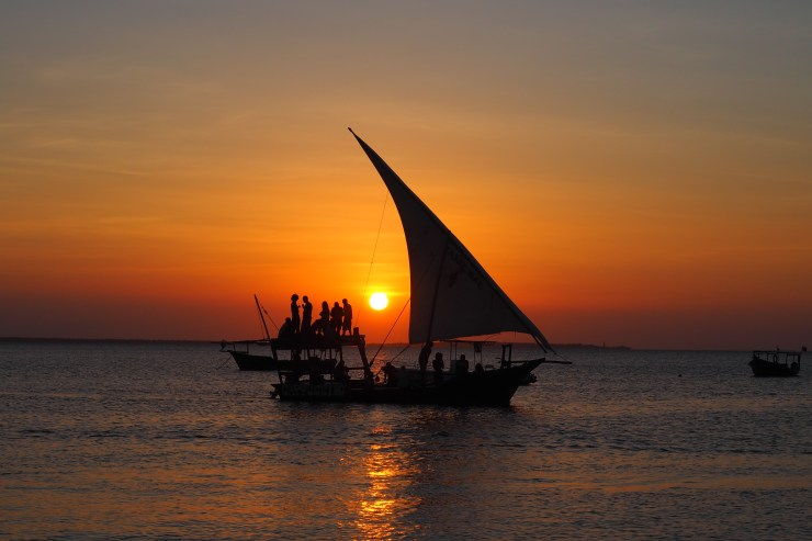Zanzibar sunset at Kendwa and Nungwi. Kenya and Tanzania Itinerary.