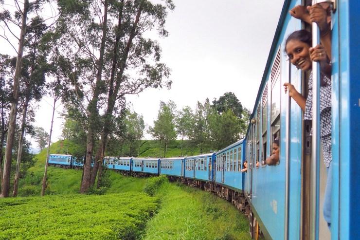 The Kandy to Ella Train, Sri Lanka