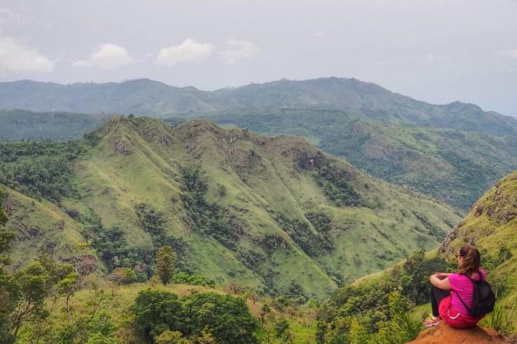 View from Ella Rock, Ella, Sri Lanka