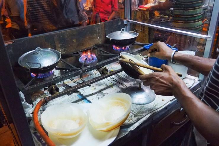 Egg Hoppers, Sri Lanka