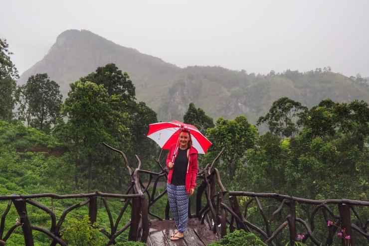 Raining in Ella, Sri Lanka
