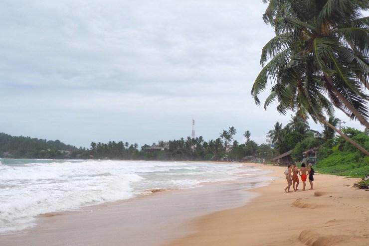 Monsoon season in Sri Lanka.
