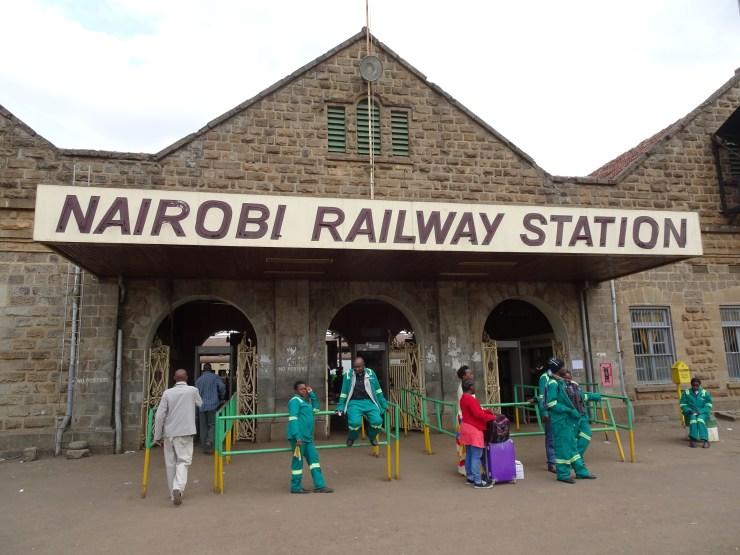 The Nairobi to Mombasa Train