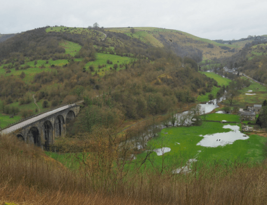 View from Monsal Head, Derbyshire