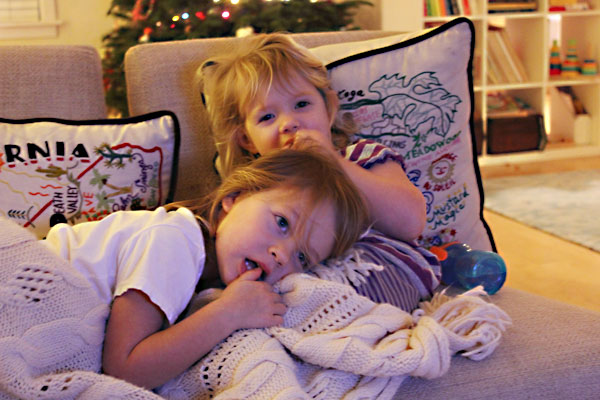 The girls were watching Busytown Mysteries. That is one of the most goddamn sexist television shows I've ever seen.