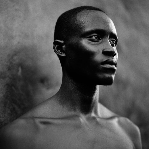 ©Jason Florio - 'Ensa, The Mechanic' The Gambia, West Africa. BW portrait from Makasutu series