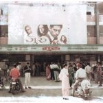 ©Oskar Landi #11- ALSO IN INDIA - people standing outside of an Indian cinema