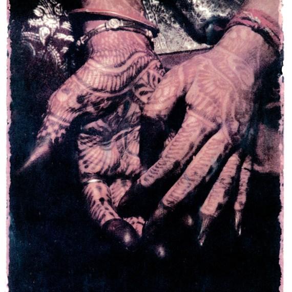 ©Oskar Landi ©Oskar Landi #13 ALSO IN INDIA. Color.. woman's hands, painted with henna