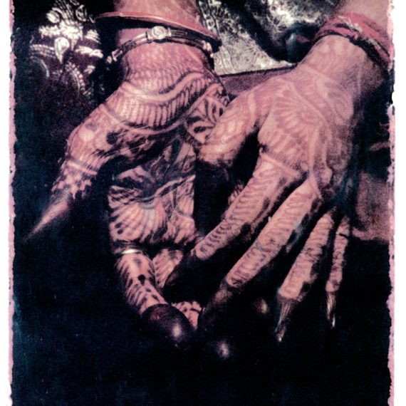 ©Oskar Landi ©Oskar Landi #13 ALSO IN INDIA. Color.. woman's hands, painted with henna