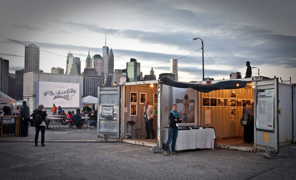 Exhibition News - image of Photoville, NYC, shipping container exhibition © Jason Florio
