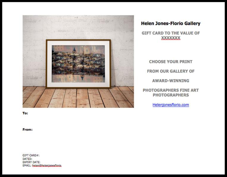 GIFT-VOUCHER - HJF Gallery
