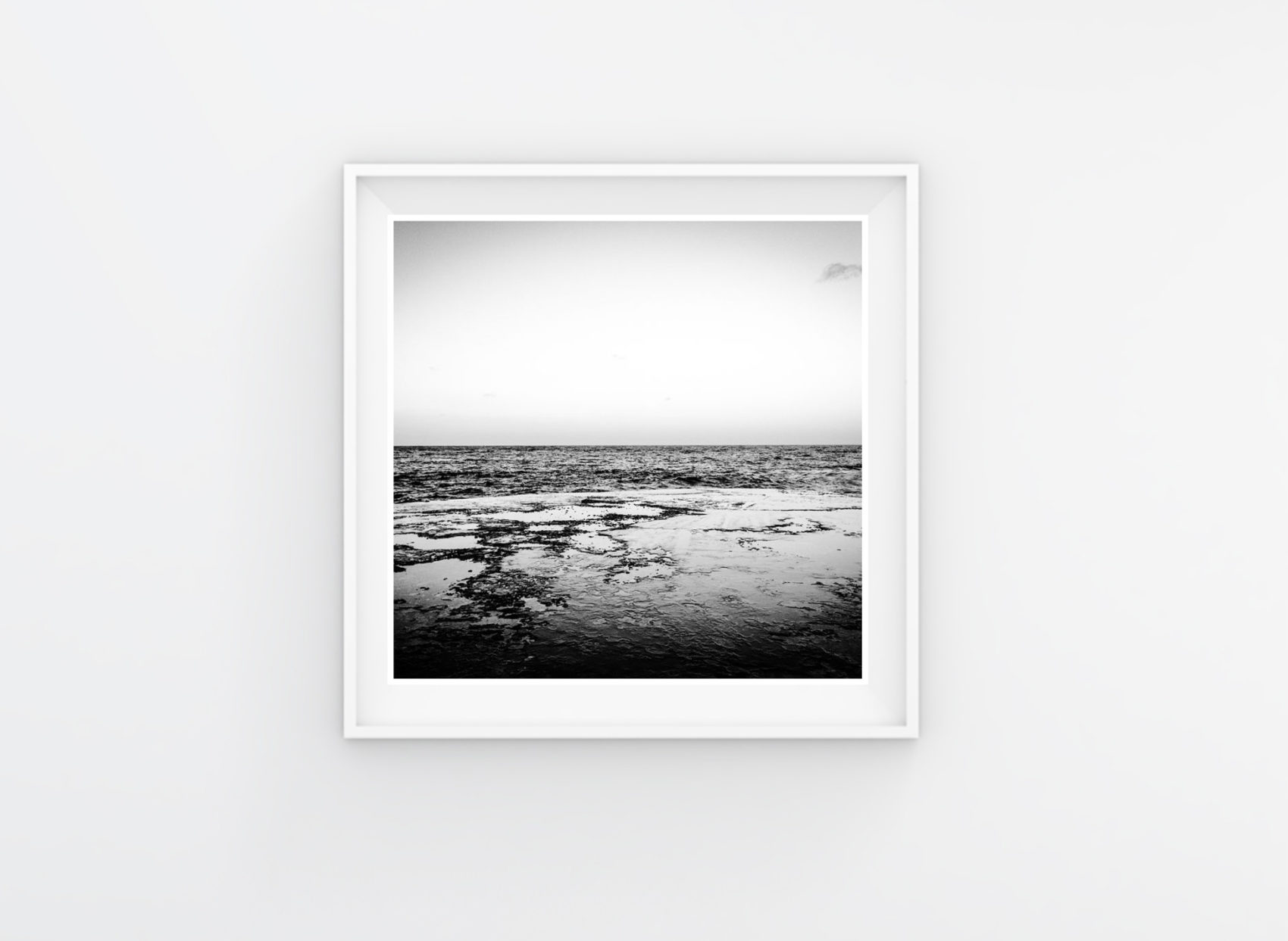 Instagram Prints Gallery Shop. Black & white - This is the Sea #1, Malta © Helen Jones-Florio