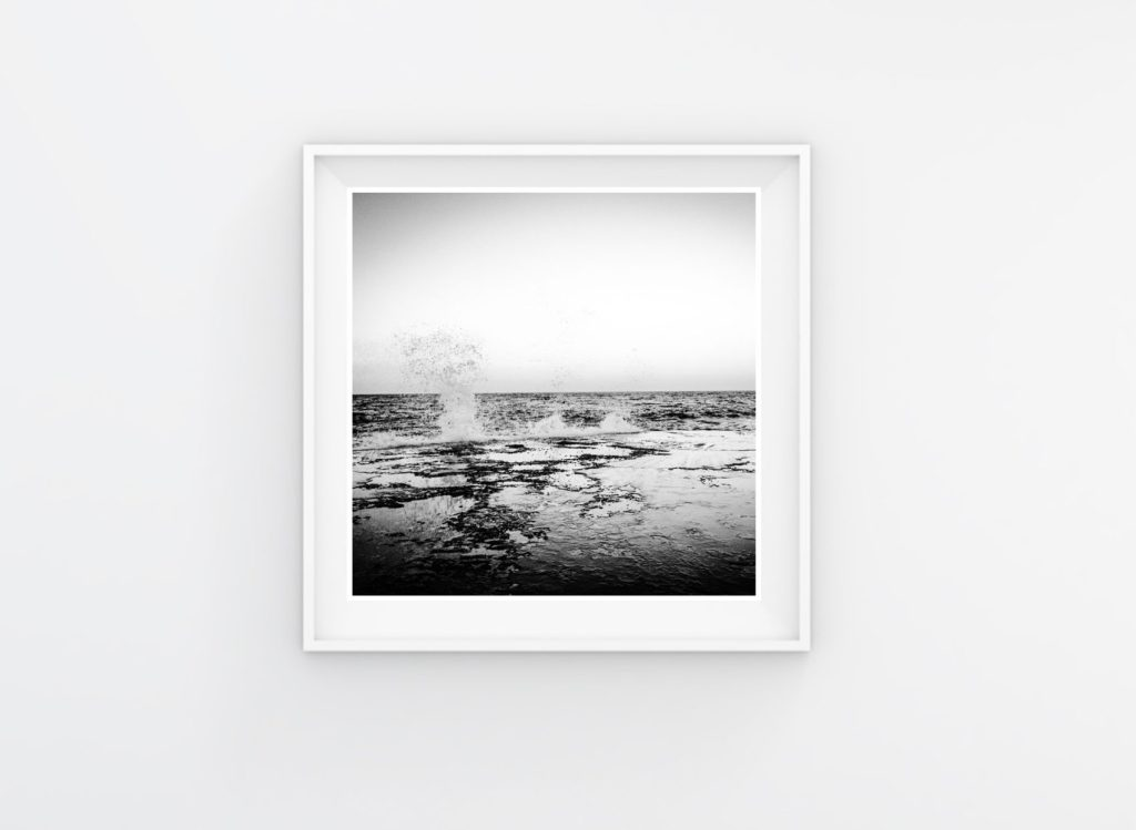 Instagram Prints Gallery Shop. Black & white - This is the Sea #2, Malta © Helen Jones-Florio