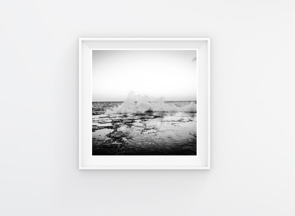 Instagram Prints Gallery Shop. Black & white - This is the Sea #3, Malta © Helen Jones-Florio