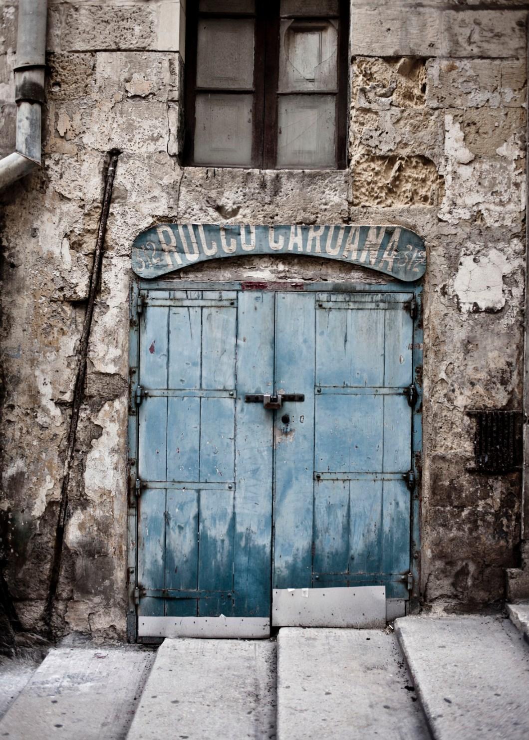 wabi-sabi Doors and facades, Valletta, Malta © Helen Jones-Florio