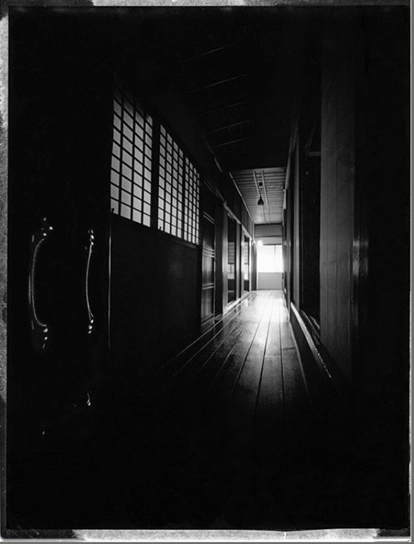 Tokusho-Ji Temple, Japan -the hallway on the ground floor, Kyoto, Japan ©Michel Delsol