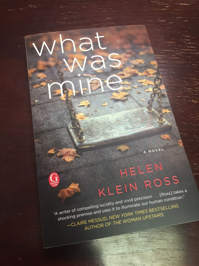 finished book What Was Mine